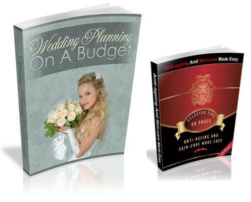 Product picture Wedding On A Budget & Anti Ageing & Skincare Guide